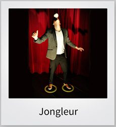 jongleur evenementen entertainment